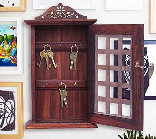 Wall Mounted Key Shaped Mail Box Key Holder - 6