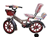 Shaan Kids 16T Bicycle RED for Boys and Girls 5-7 years age
