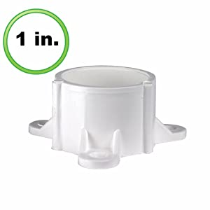 "PVC- Table cap 1"" (Furniture Grade White)"