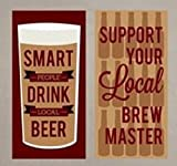 wall decals beer - Wall Decal Beer Support Local Brew Master Drink Local Beer