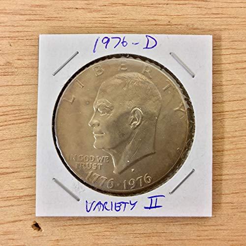 Genuine ~1976-D Eisenhower DollarVariety 2 LOT#E128