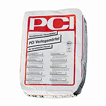 PCI VerlegemörtelFlexibilisierter Fliesenkleber Für Keramische - Keramische fliesen preise