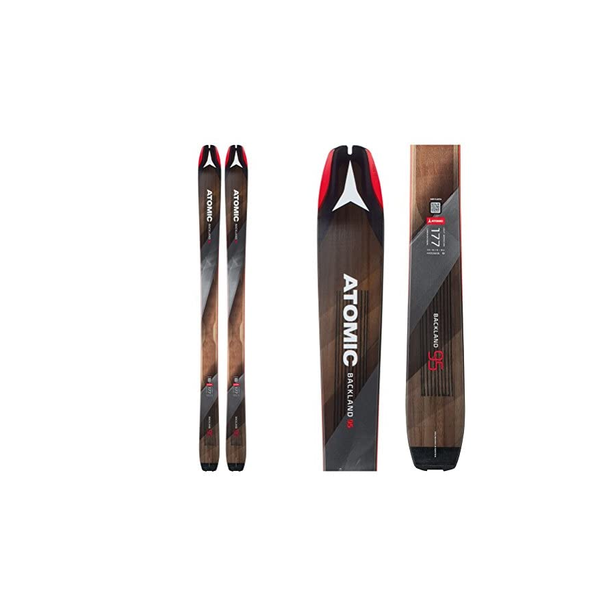 Atomic Backland 95 Hybrid Skin Skis