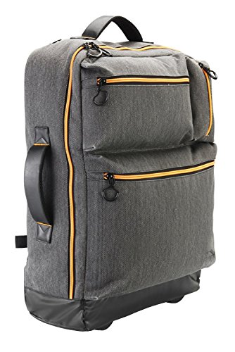 Cabin Max Oxford 55X40x20cm Carry On Luggage   Multi Function Backpack And Trolley