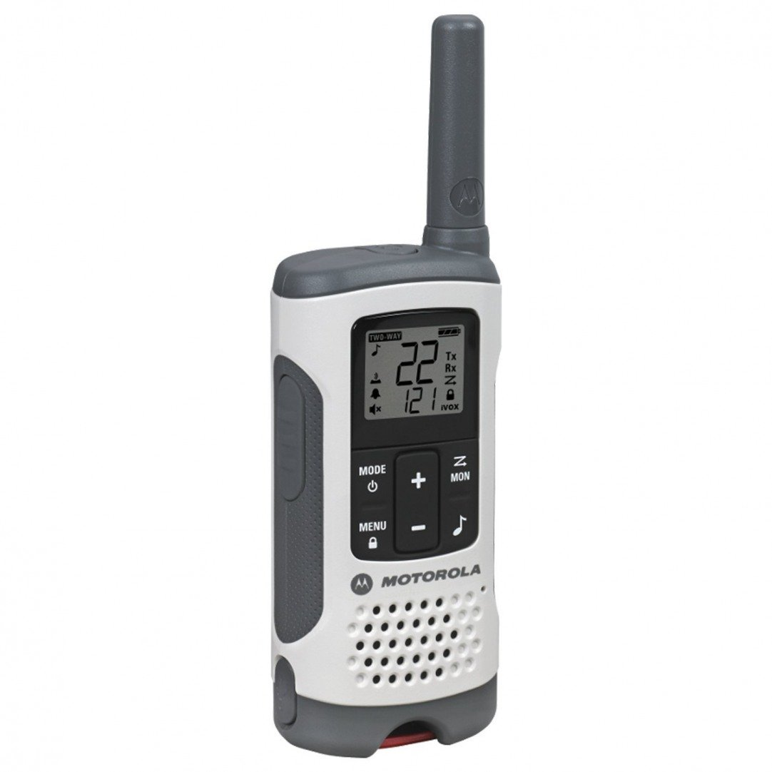Walkie Talkie, Motorola Talkabout T260tp White Walkie Talkie Rechargeable, 3pk by By-Motorola Solutions (Image #6)