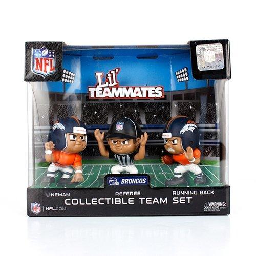 NFL Denver Broncos Lil' Teammates (Pack of 3)
