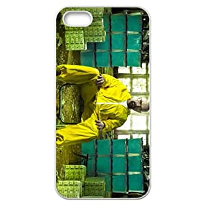 Breaking Bad iPhone 5 5S White Phone Case Gift Holiday Gifts Souvenir Halloween gift Christmas Gifts TIGER155337