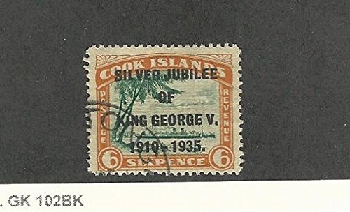 (Cook Islands, Postage Stamp, 100 Used, 1935)