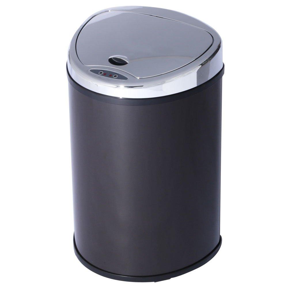 アイリスプラザ ゴミ箱 自動 開閉 センサー付 48L ブラウン