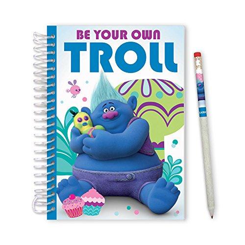 DreamWorks Trolls Biggie Sketch & Sniff Sketch Pads w/Scented Cover - Cupcake