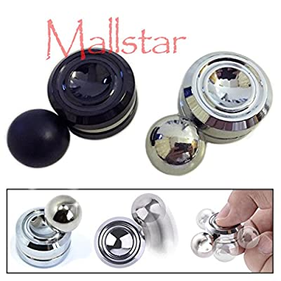 Ball Fidget Toy Magnetic Orbit High Speed Fidget Spinner with Ball Reduces Stress ADHD Helps Focus Anxiety Relief Anti Depression Toys for Kids and Adults
