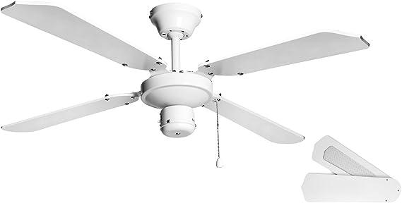Orbegozo CF 03105 B Ventilador de techo sin luz, 50 W de potencia ...