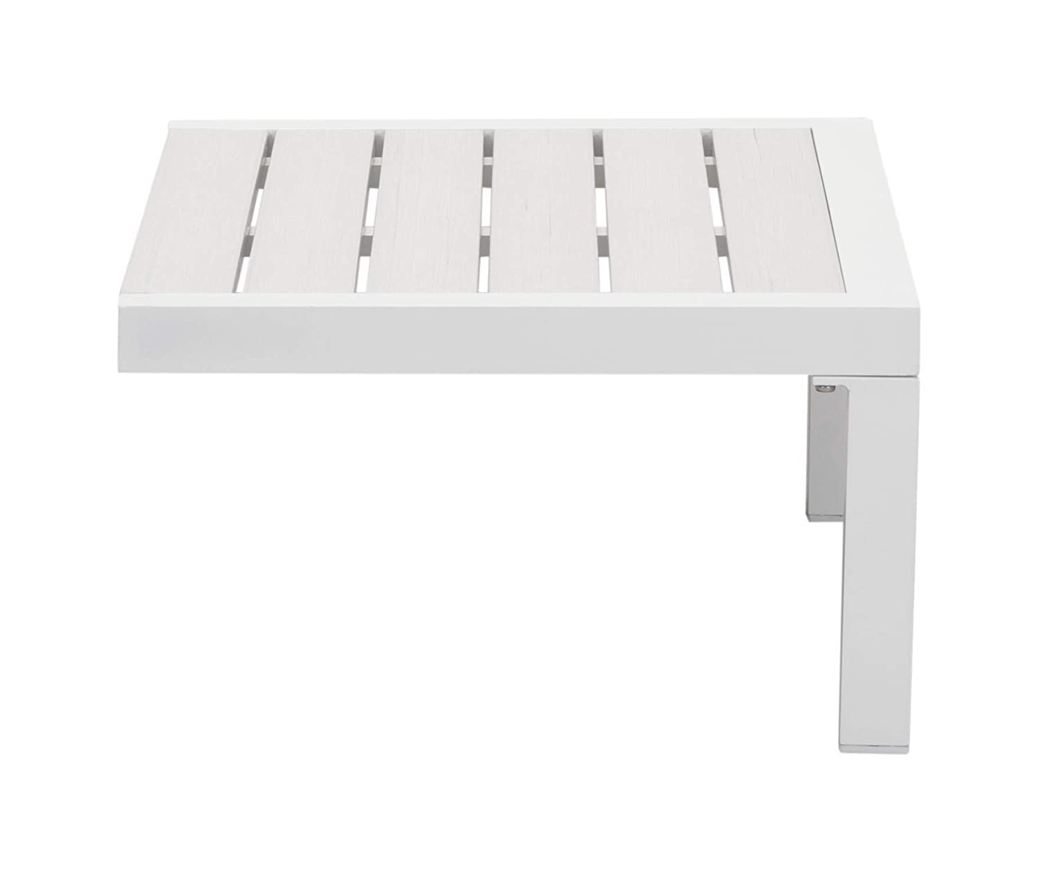 White One Size Zuo 703896 Side Table