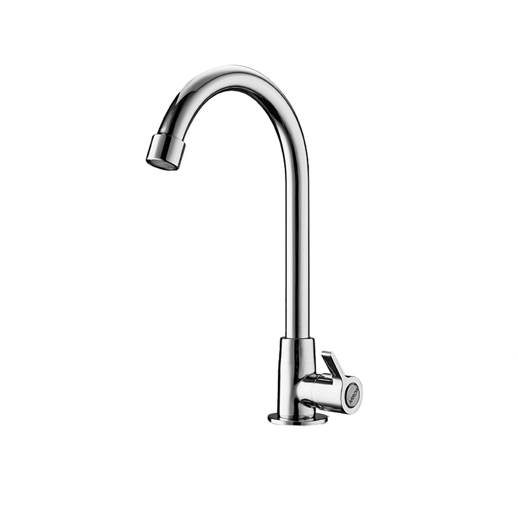 Kitchen faucet RXL Single hole faucet Single cold faucet Sink basin faucet Net tap redatable, brass body