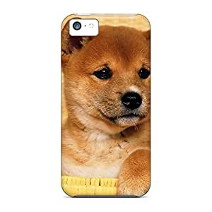 iphone 5 / 5s Protection cell phone covers Perfect Design cases cute shiba inu puppy