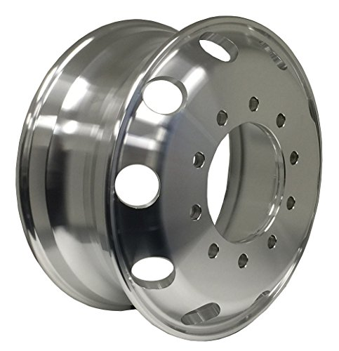 Zxly Zx00205MF Aluminum Wheel with Machined Finish (22.5x8.25''/10x11.25mm, +167mm offset) by ZXLY