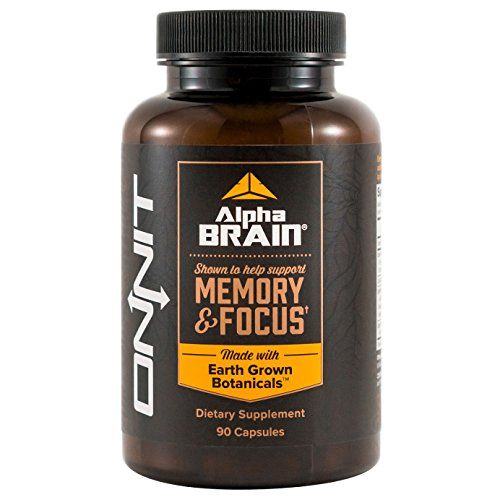 Onnit Alpha BRAIN: Nootropic to Improve Brain Function | 90 Count