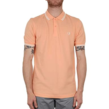 7a7eb13b Fred Perry Twin Tipped Polo Shirt - Nectar: Amazon.co.uk: Clothing