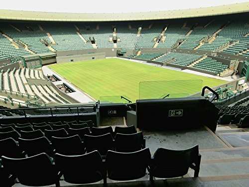 Home Comforts LAMINATED POSTER Stadium Green London Tennis Center Court Wimbeldon Poster 24x36 Decal Stadium Court