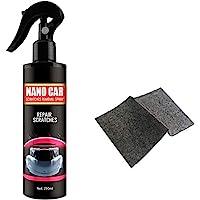 JAOCDOEN Reparo de arranhões de carro, removedor de arranhões e redemoinhos de carro de 250 ml, spray nano antiarranhões…
