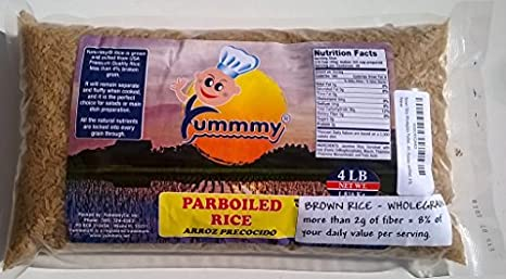 Amazon.com : Yummmy Brown Rice Wholegrain Parboiled, 3.5 lb. (56 oz) : Grocery & Gourmet Food