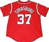 Washington Nationals Stephen Strasburg #37 Alternate Men's Jersey by Majestic