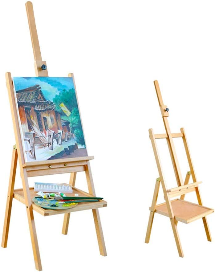 Caballete Paleta de Madera Plegable Dibujo de Pintura Pantalla Soporte Juego de Pintura HUYP (Color : Easel): Amazon.es: Hogar