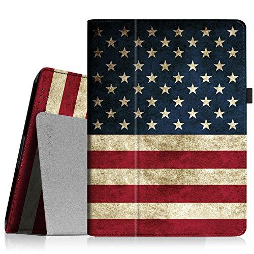 Fintie iPad 4/3/2 Case - Slim Fit Folio Stand Case Smart Protective Cover Auto Sleep/Wake Feature for Apple iPad 2, iPad 3 & iPad 4th Generation with Retina Display, US Flag (American Flag I Pad Mini Case)