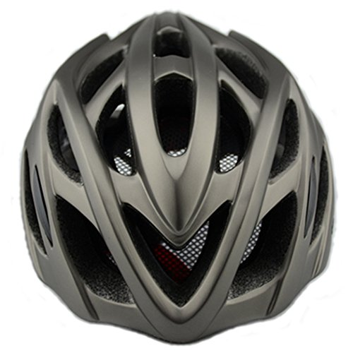 Mountain & Dirt Road Bike Helmet For Adult Men and Women with Adjustable Band and LED Safety Light, Racing,Cycling and Riding Bicycle Helmets