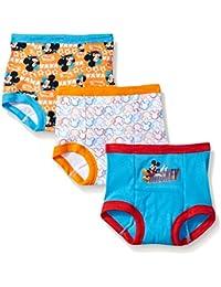 Boys Mickey Mouse 3pk Training Pant