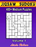 img - for Jigsaw Sudoku 400+ Medium Puzzles Volume 1: Bored of regular Sudoku? Try your hand at Jigsaw Sudoku book / textbook / text book