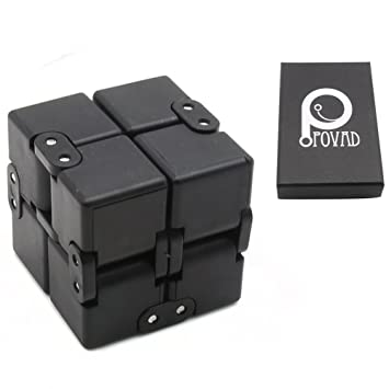 infinity cube amazon. fidget cube in style with infinity pressure reduction toy - turn spin edc amazon a
