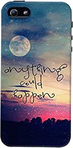 DailyObjects Anything Could Happen Case For iPhone 5/5S Multicolored