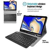 ProCase Keyboard Case for Galaxy Tab S4 10.5, Slim