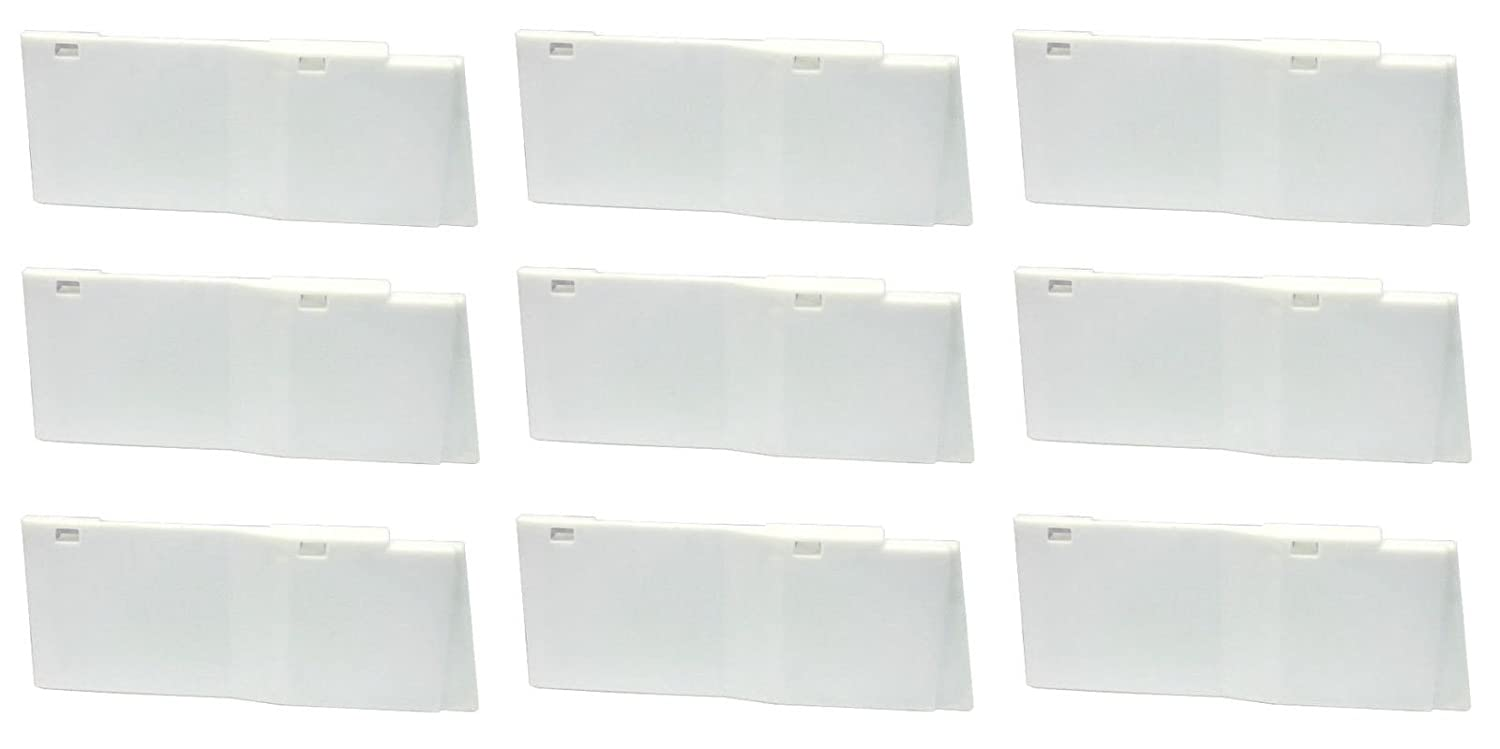 Dixie Narco 20oz Bottle Shims for 5591 Glass Front Vending Machine Lot of 9