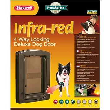 Staywell 861 Infra Red Electronic Dog Door Flap Amazon