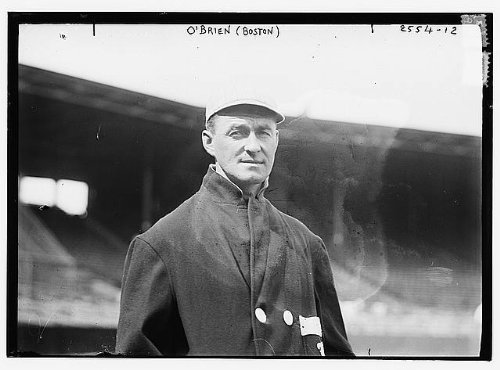 HistoricalFindings Photo: Thomas Joseph 'Buck' O'Brien,1882-1959,Boston AL (Baseball),Pitcher,MLB (Obrien Furniture Thomas)