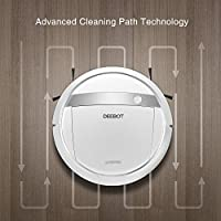 ECOVACS DEEBOT M88 Robotic Vacuum Cleaner for Pet Hair, Carpet and Bare Floors, Wifi Connected, Compatible with Alexa from Ecovacs Robotics