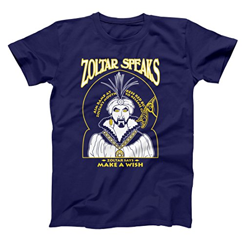 Zoltar Speaks Fortune Teller Funny Big Hilarious Jersey Shore Comedy Humor Mens Shirt Medium - Shore Jersey Stores Outlet