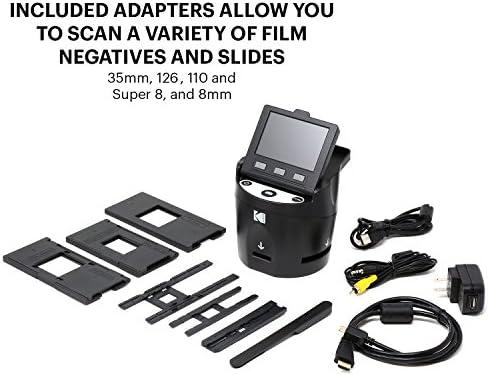 KODAK SCANZA Digital Film amp Slide Scanner 22683648220 Converts 35mm 126 110 Super 8 amp 8mm Film