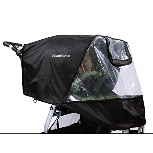Bumbleride Indie Twin Non-PVC Rain Cover, NA by Bumbleride