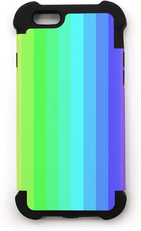 Multicolore Rayures Arc-en-Ciel iPhone 6/iPhone 6S Coque Anti ...