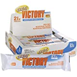 OhYeah! Victory Bars, Chocolate Chip Cookie Dough, 12 Count,2.29oz bars