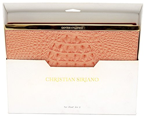 Christian Siriano Folio Case for Apple iPad Air 2 Pink/Gold CS-MPDA2FCP
