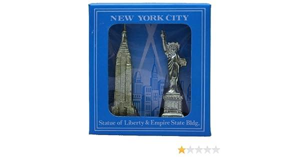 BVC Recuerdo Nueva York - Estatua de la Libertad y Empire State ...