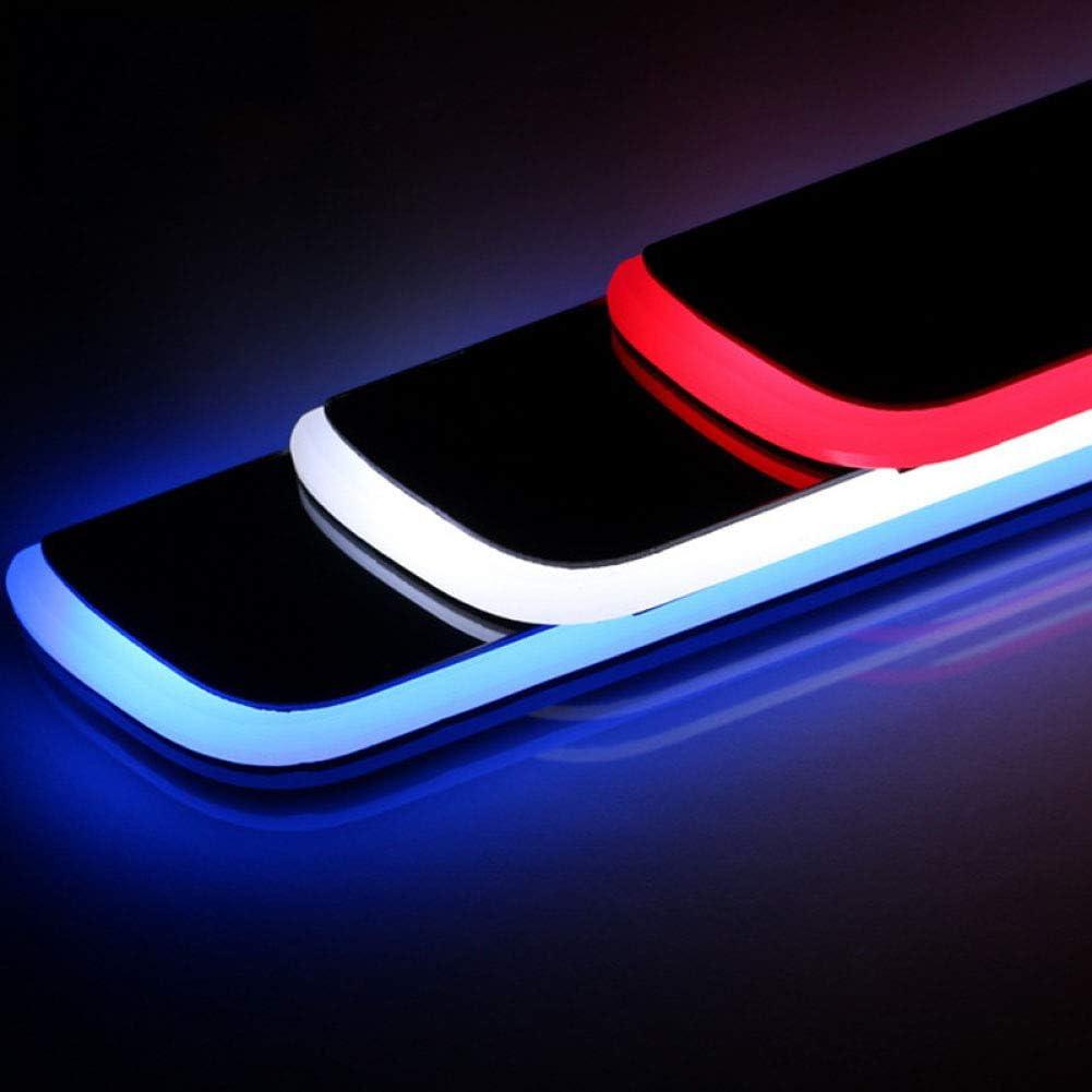 NA 4PCS Acrylic Moving Welcome Pedal Auto Abnutzungsplatte Pedal Einstiegsleiste Licht Light F/ür Mazda CX-3 CX3 2015 2016 2017 2018