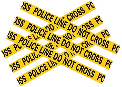 Fun Express Caution Tape - Police Line Do Not Cross - 20 ft by Novelty Toys (2pk) -