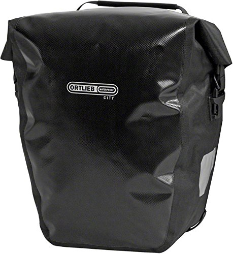ORTLIEB Back-Roller City Panniers, Black Various Patterns -  F5002