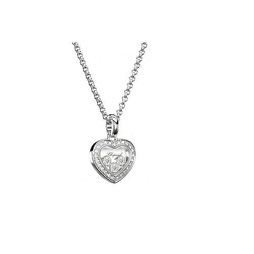 5cf4b68736a3a Chopard HAPPY DIAMONDS ICONS PENDANT 18K WHITE GOLD AND DIAMONDS -  794502-1001: Amazon.ca: Jewelry