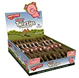Smart n' Tasty Grain Free Pork Piggy Twizzies All Natural Chews, 12-Inch, 30-Pack
